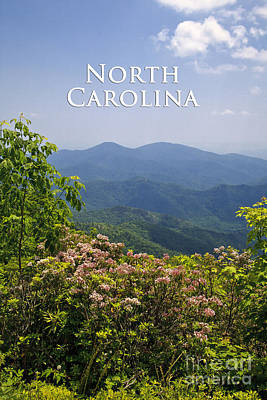North Carolina Mountains Art Print