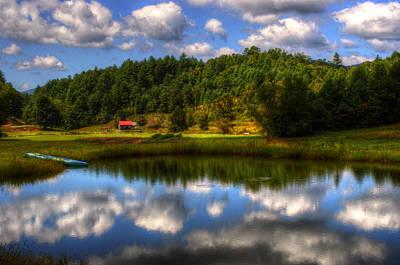 Barn Photograph - North Carolina Pond by Greg and Chrystal Mimbs