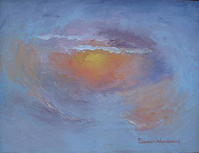 Painting - North Carolina Sunset by Susan Woodward