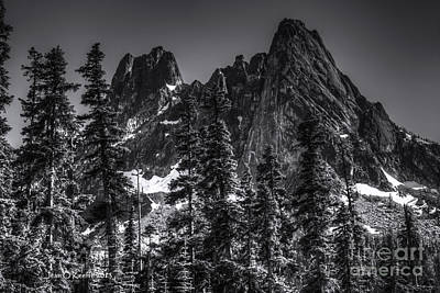 Photograph - North Cascades Highway Liberty Bell by Jean OKeeffe Macro Abundance Art