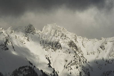 Photograph - North Cascades Mountains In Winter by Yulia Kazansky
