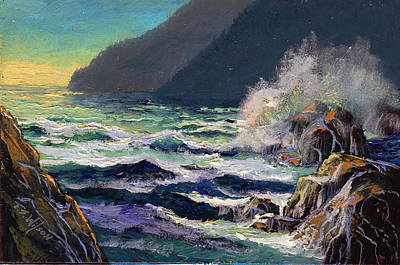 Painting - North Coast by Frank Wilson