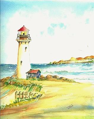 North Coast Light House Art Print