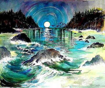 North Coast Sea Art Print