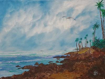 Painting - North Coast by Tony Rodriguez