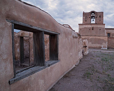 Photograph - North Convento Wall by Tom Daniel
