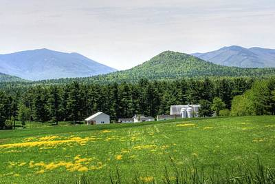 Rural Scenery Photograph - North Country Farm by Michael Allen
