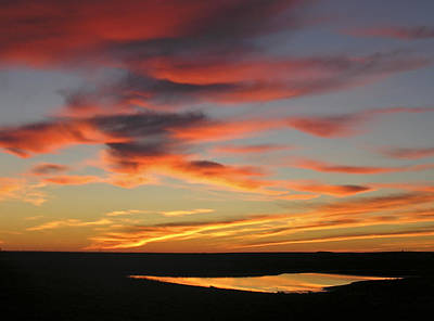 Photograph - North Dakota Sunset by Haiti Missions
