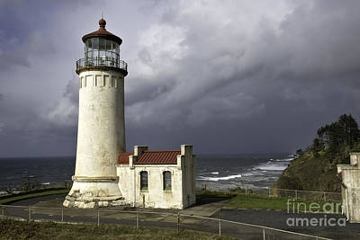 Photograph - North Head Lighthouse by Moore Northwest Images