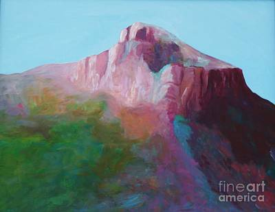 Painting - North Franklin Peak by Melinda Etzold