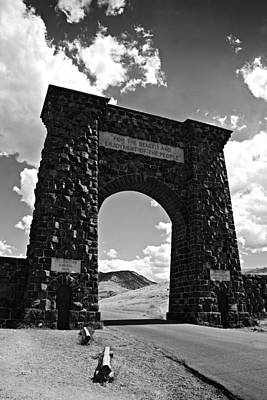 Handbuilt Photograph - North Gate by Paul Conner