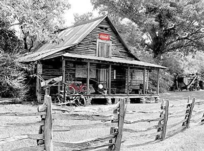 Photograph - North Georgia's Murrayville by EG Kight