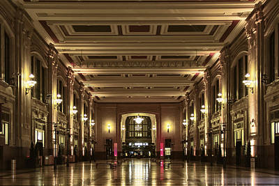 Kansas City Digital Art - North Hall At Union Station by Russell Honey