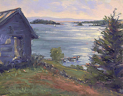 North Haven Island Painting - North Haven Island Morning by Ken Fiery
