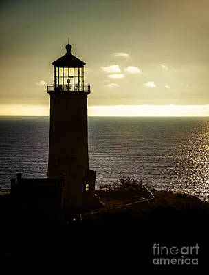 Photograph - North Head Lighthouse After Sunset  by Robert Bales