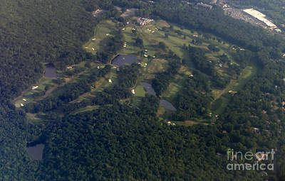 North Jersey Country Club Golf Course Art Print by David Oppenheimer