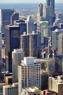Chicago Photograph - North Loop Density by Bruce Leighty