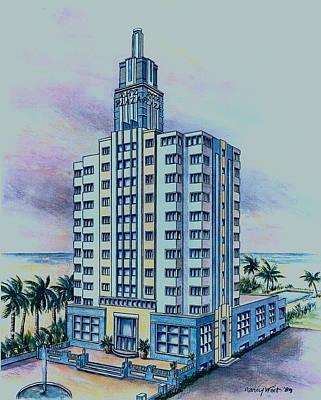 Painting - North Miami Beach  by Nancy Wait