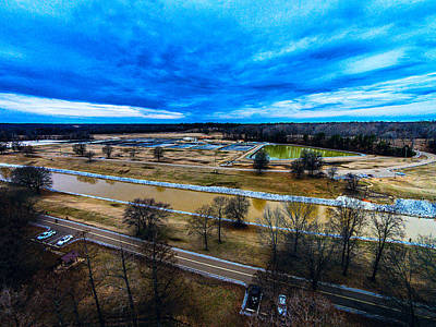 Photograph - North Mississippi Fish Hatchery - Scenic Landscape by Barry Jones