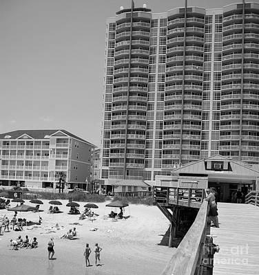 Photograph - North Myrtle Beach by Mark Spearman