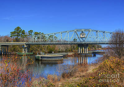 Photograph - North Myrtle Beach Swing Bridge by Kathy Baccari