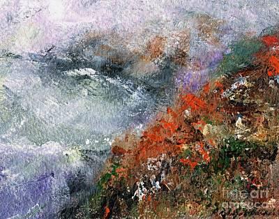 North Of Bodega Bay Art Print by Frances Marino