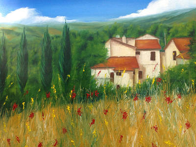 Painting - North Of Florence by Neil Kinsey Fagan