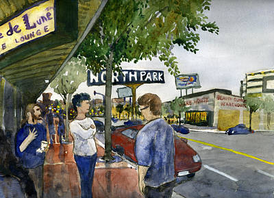 Painting - North Park by Brian Meyer