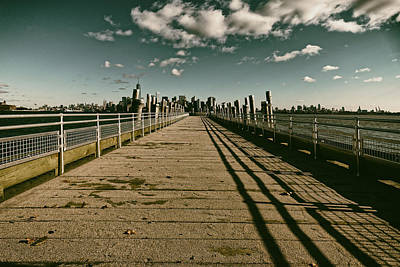 North Pier Liberty Island Art Print
