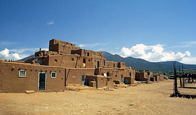 Kim Fearheiley Photography - North Pueblo At Taos  by Buddy Mays