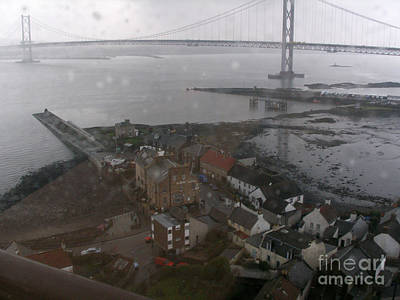 Photograph - North Queensferry In The Rain by Rod Jones