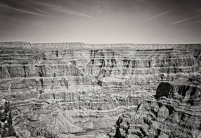 Photograph - West Rim Bw by Heather Applegate