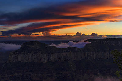 Mcherdering Photograph - North Rim Dusk by Mike Herdering