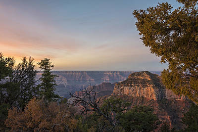 North Rim Sunrise 1 - Grand Canyon National Park - Arizona Art Print