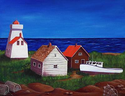 Painting - North Rustico - Prince Edwards Island by Anastasiya Malakhova
