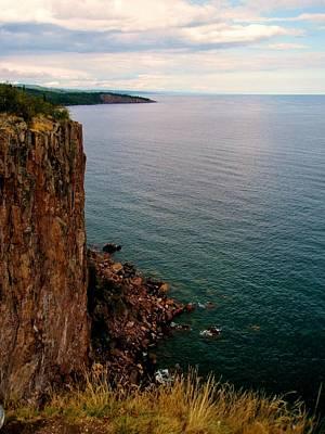 Photograph - North Shore Cliff by Bridget Johnson