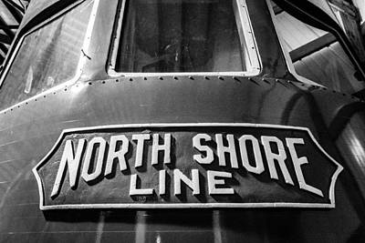 Photograph - North Shore Line by Randy Scherkenbach