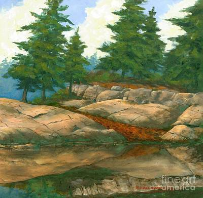 North Shore Art Print by Michael Swanson