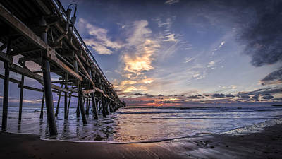 San Clemente Beach Photograph - North Side by Sean Foster