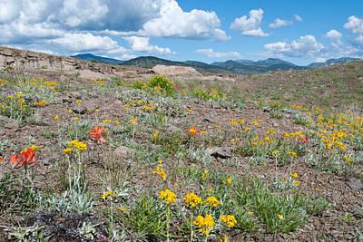 Photograph - North Table Mountain - Golden Colorado by Cascade Colors