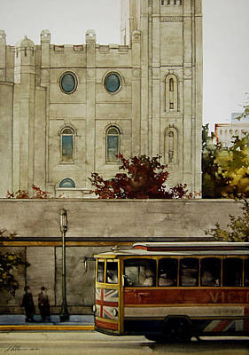 North Temple Trolley Original