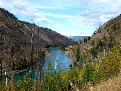 Photograph - North Thompson River 1 by Will Borden