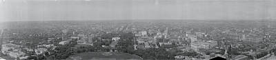 White House Photograph - North View Washington Dc by Fred Schutz Collection