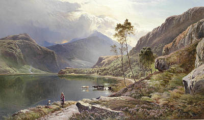 North Wales Painting - North Wales by Celestial Images