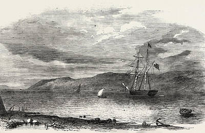 Art Ross Drawing - North-west Searching Expedition For Sir John Franklin by English School