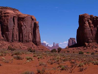 Photograph - North Window In Monument Valley by Keith Stokes