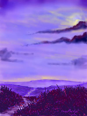 Painting - North Yorks Moors by Glenn Marshall
