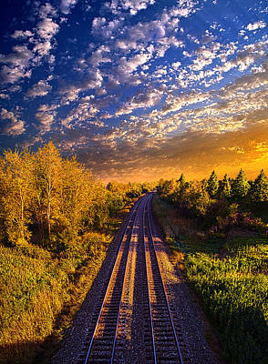 Northbound Print by Phil Koch