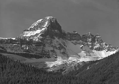 Photograph - 1m3772-bw-northeast Face Diadem Peak by Ed  Cooper Photography