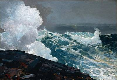 Noreaster Painting - Northeaster 1895 by Philip Ralley